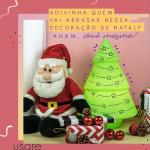 Decoração de Natal com árvore original