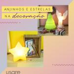 Como usar anjinhos e estrelas na decoração de Natal e no dia a dia
