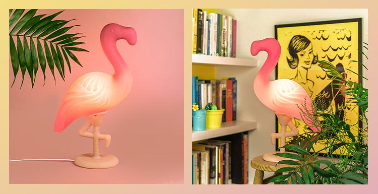 luminária_divertida_usare_verão_flamingo