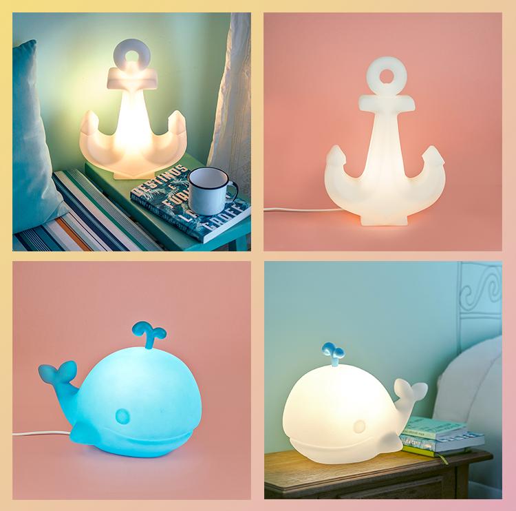 luminárias_divertidas_usare_verão_âncora_baleia