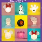 Luminárias Usare oficiais da Disney