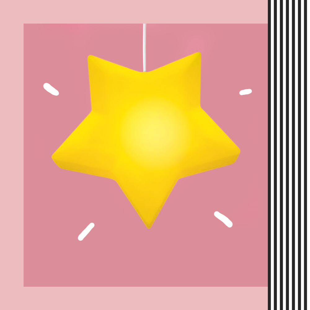 Dicas para arrumar a casa para o Natal Luminária Pendente estrela