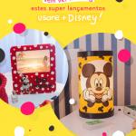 Luminárias Mickey e Minnie da Disney