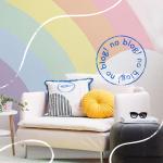 Pinturas de parede geométricas e criativas