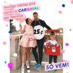 Fantasias para Carnaval em família