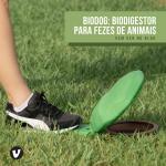 Biodigestor pra fezes de cachorro doméstico: Biodog