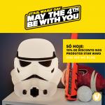 Star Wars Day com 15% de desconto nos produtos da Coleção Star Wars