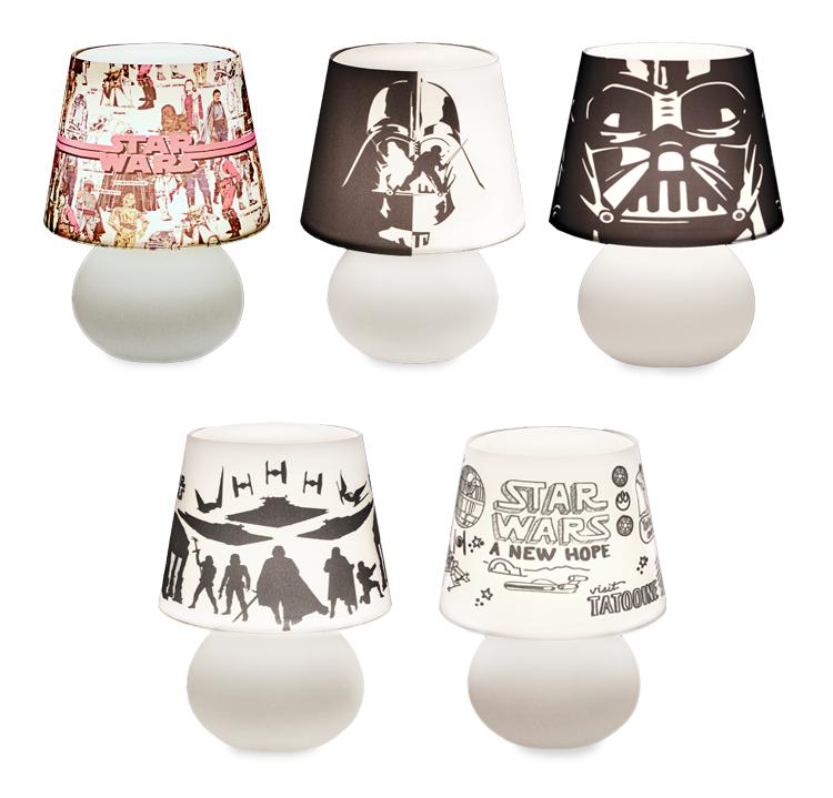 Coleção Star Wars Luminárias Usare