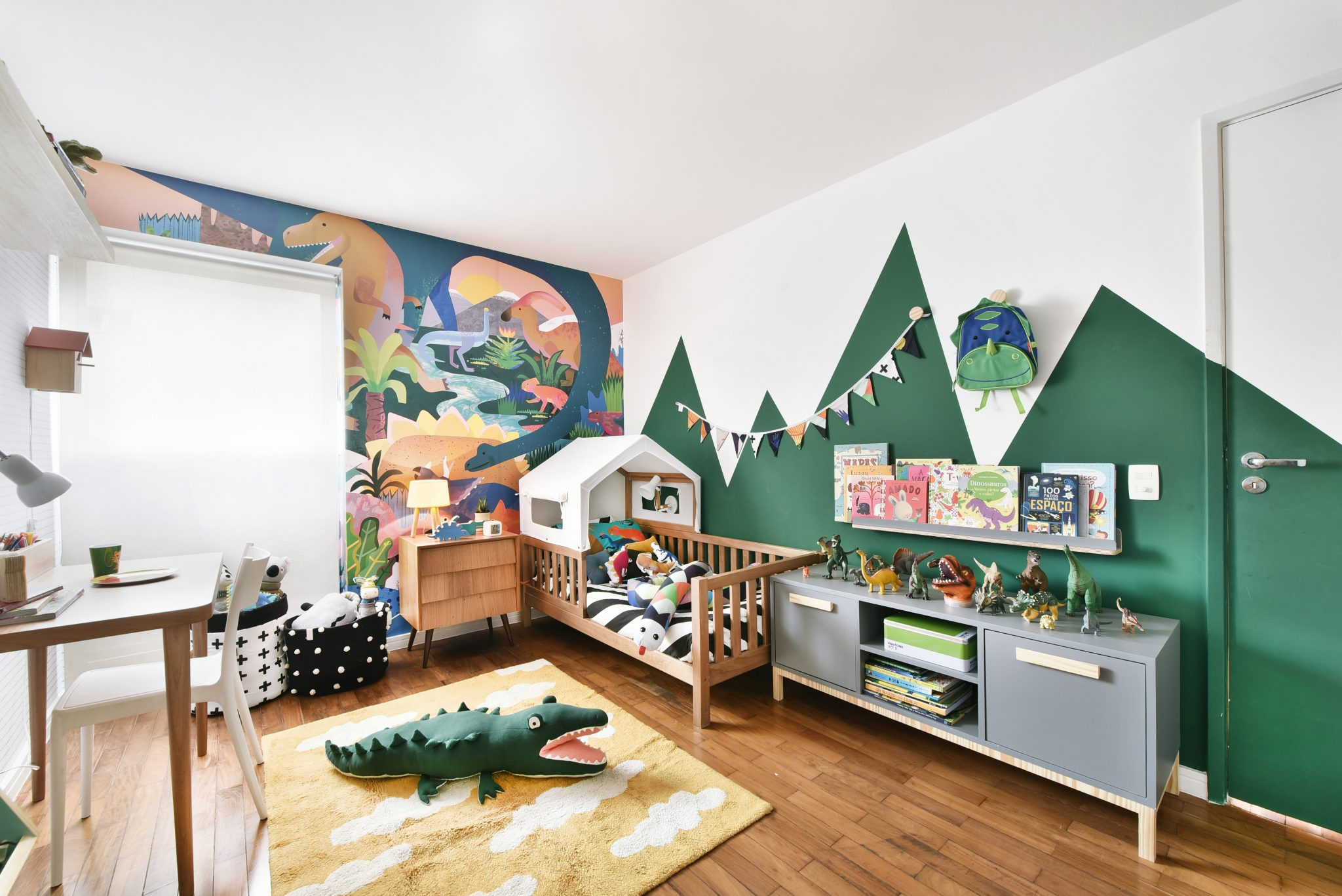 quarto de dinossauro menino bebê