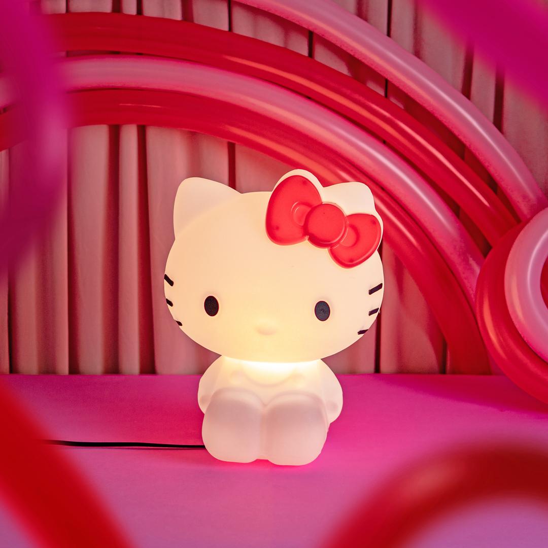 presente dia das crianças luminária hello kitty