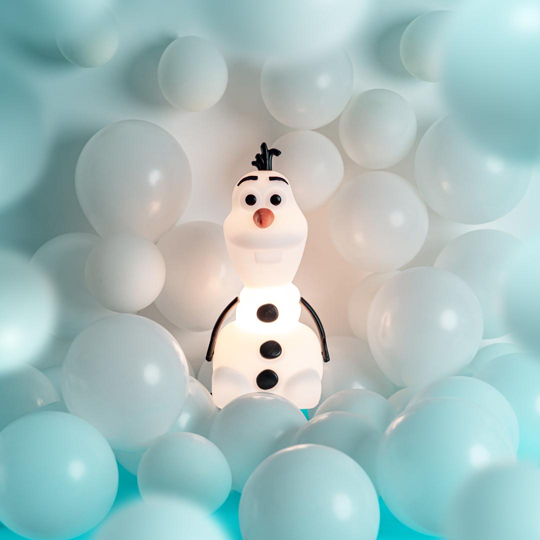 presente dia das crianças luminária olaf frozen disney