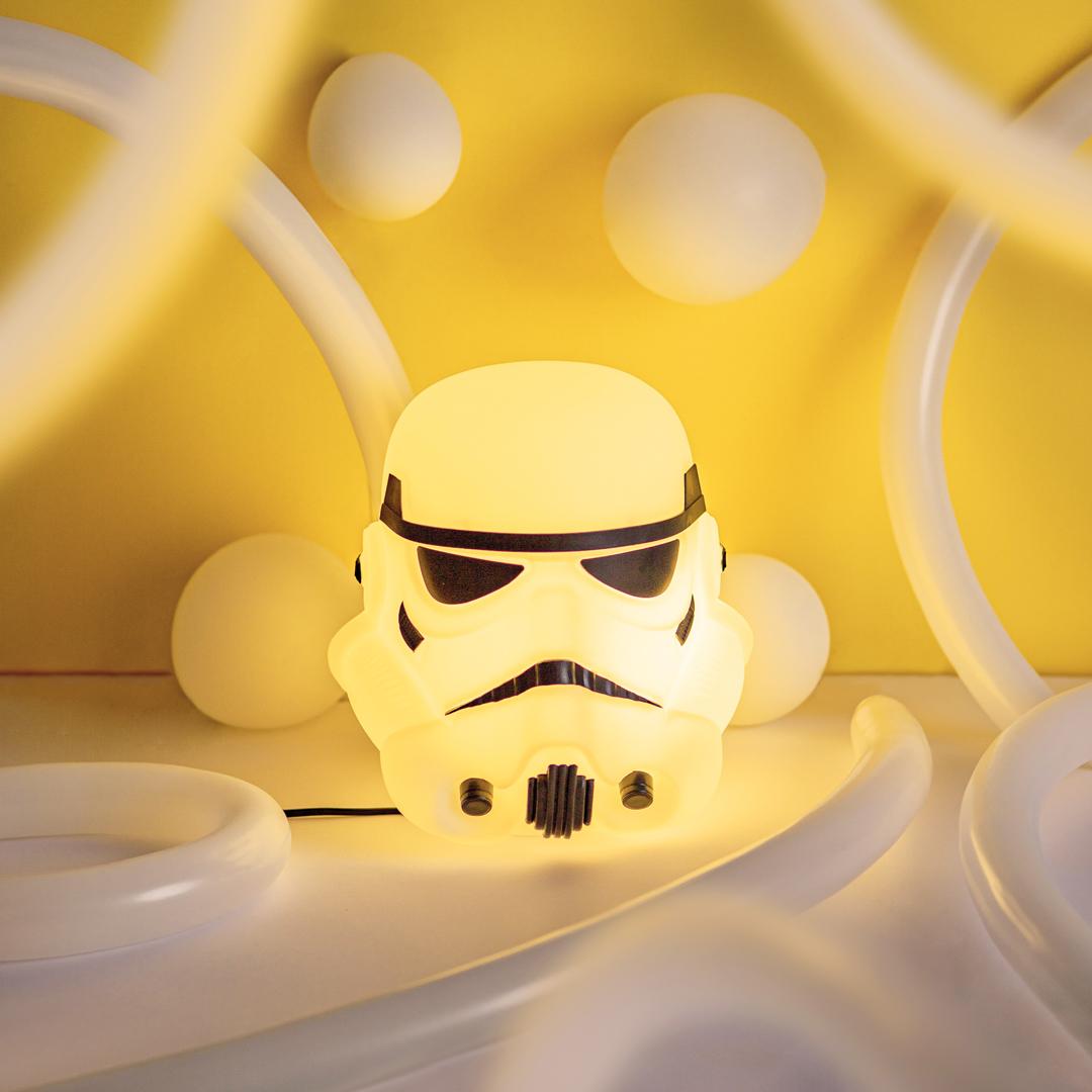 presente dia das crianças luminária star wars stormtrooper